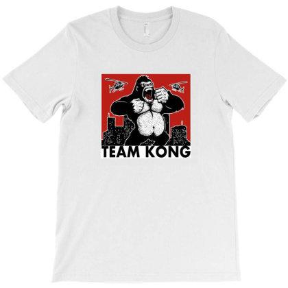 Team Kong T-shirt Designed By Akin