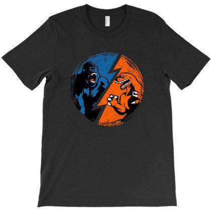 Kong Vs. Godzilla T-shirt Designed By Akin