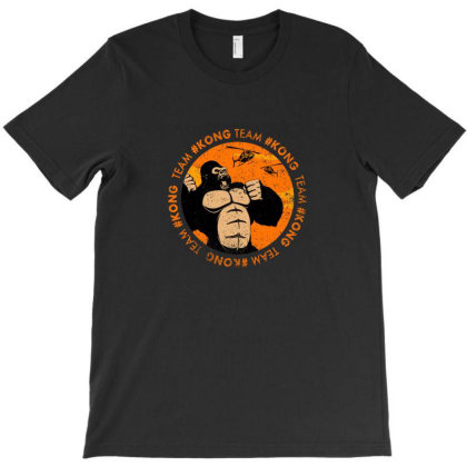 Team #kong T-shirt Designed By Akin