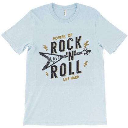 Rock N Roll T-shirt Designed By Chiks