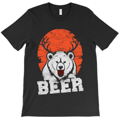 Bear  Deer T-shirt Designed By Blqs Apparel