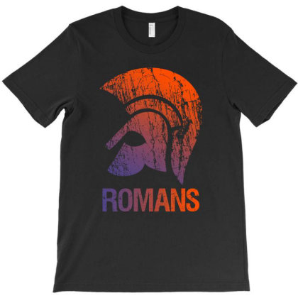 Romans, Roman Helm T-shirt Designed By Cypryanus