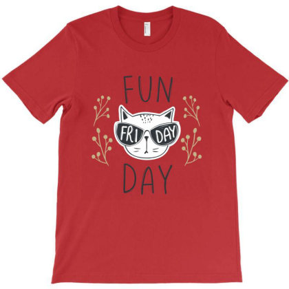 Funny Animals Cats T-shirt Designed By Chiks