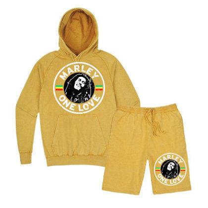 Bob Marley   One Love Vintage Hoodie And Short Set Designed By Frizidan