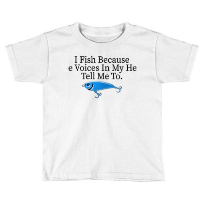 Fishing And Hunting Toddler T-shirt Designed By Mirazjason