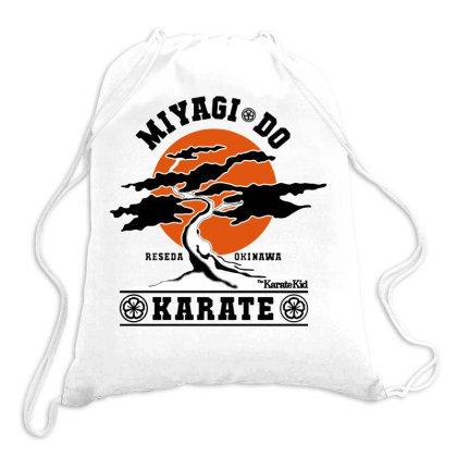 Karate Kid   Miyagi Do Drawstring Bags Designed By Frizidan