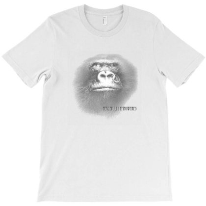 Peacefully Empowered T-shirt Designed By Zenci
