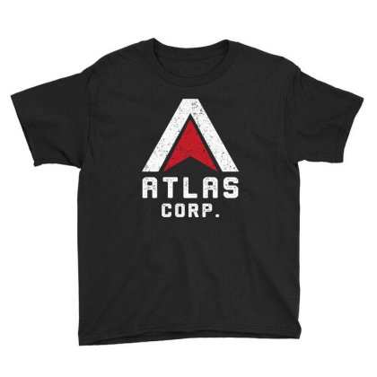 Atlas Corp Youth Tee Designed By Cosby