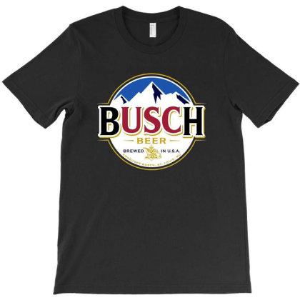 Vintage Busch Light Busch Beer T-shirt Designed By Şen