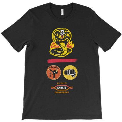 Dojo Logo Cobra Kai T-shirt Designed By Şen