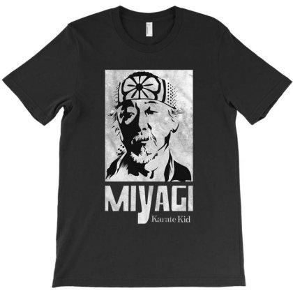 Mr Miyagi Karate Kid Cobra Kai T-shirt Designed By Şen