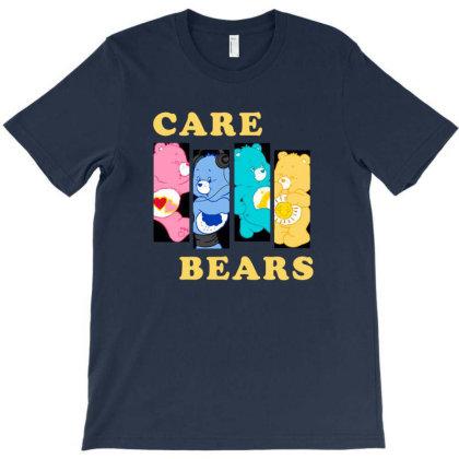 Four Friends Care Bears T-shirt Designed By Şen