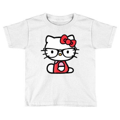 Nerd Glasses Tee Shirt Toddler T-shirt Designed By Cuser3772