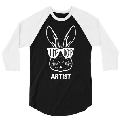 Artist Bunny Rabbit Graphic Funny Pun Easter T Shirt 3/4 Sleeve Shirt Designed By New1915