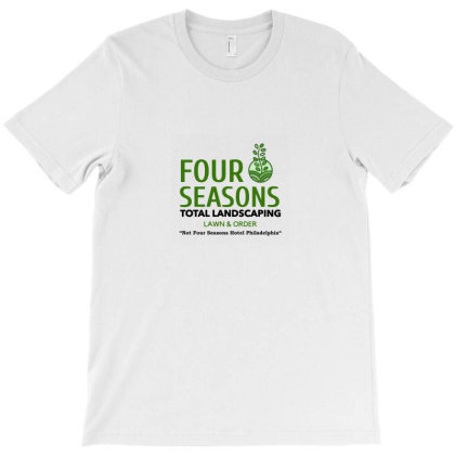 Four Seasons Total Landscaping Merch T-shirt Designed By Sera