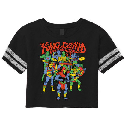 King And Gizzard And The Lizard Wizard Scorecard Crop Tee Designed By Mostwanted