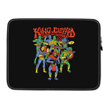 King And Gizzard And The Lizard Wizard Laptop Sleeve Designed By Mostwanted