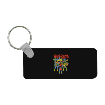 King And Gizzard And The Lizard Wizard Frp Rectangle Keychain Designed By Mostwanted