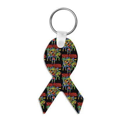 King And Gizzard And The Lizard Wizard Ribbon Keychain Designed By Mostwanted