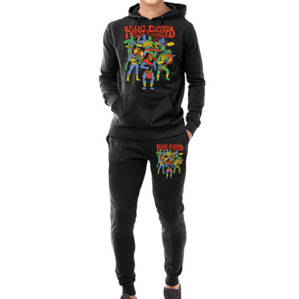 King And Gizzard And The Lizard Wizard Hoodie & Jogger Set Designed By Mostwanted