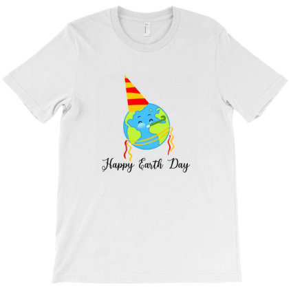 Happy Earth Day T-shirt Designed By Akin