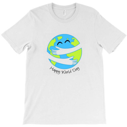 Happy World Day T-shirt Designed By Akin