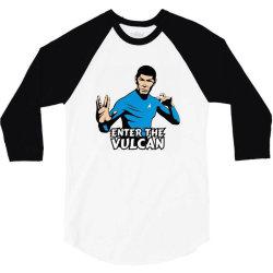 vulcan 3/4 Sleeve Shirt | Artistshot