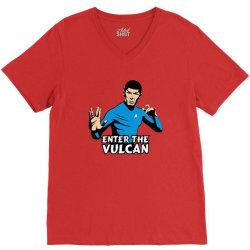 vulcan V-Neck Tee | Artistshot