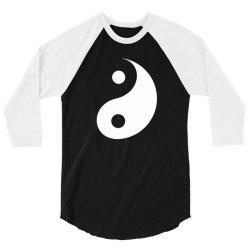 yin yang 3/4 Sleeve Shirt | Artistshot