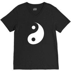 yin yang V-Neck Tee | Artistshot