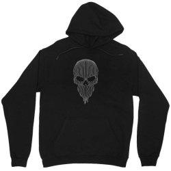 striped skull Unisex Hoodie   Artistshot