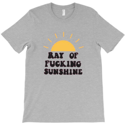 Ray Of Sunshine T-shirt Designed By Buanans