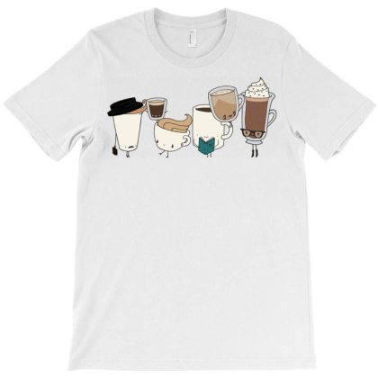 Funny Coffees T-shirt Designed By Şen