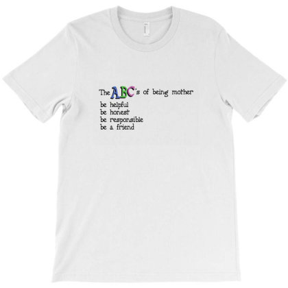 The Abc's Of Being Mother T-shirt Designed By Akin