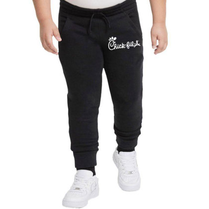 Chick Fil A   White Youth Jogger Designed By Meganphoebe