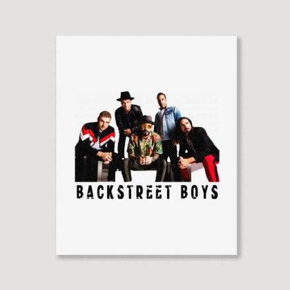 Backstreet Boys Cool Portrait Canvas Print Designed By Meganphoebe