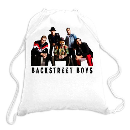 Backstreet Boys Cool Drawstring Bags Designed By Meganphoebe