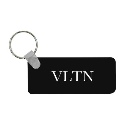 Valentino Frp Rectangle Keychain Designed By Blqs Apparel