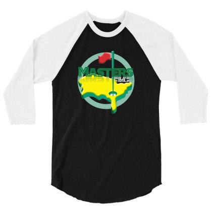 Masters Golf 3/4 Sleeve Shirt Designed By Coşkun