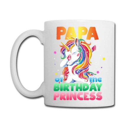 Papa Of The Birthday Prin  Uni  Bday Girl Party Gift T Shirt Coffee Mug Designed By Ryan2204