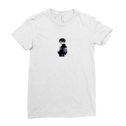 Levi Survey Corps Ladies Fitted T-shirt Designed By Arum