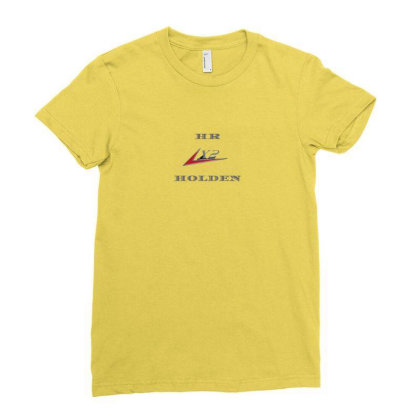 Fe Holden Motor Series Ladies Fitted T-shirt Designed By Arum