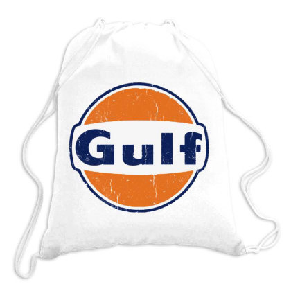 Gulf Racing Drawstring Bags Designed By Blqs Apparel