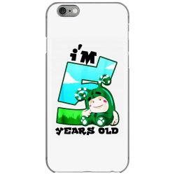 i'm 5 years old birthday iPhone 6/6s Case | Artistshot