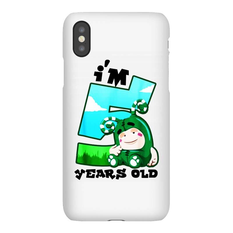 I'm 5 Years Old Birthday Iphonex Case | Artistshot