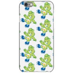 Rainbow green skate bear iPhone 6/6s Case | Artistshot