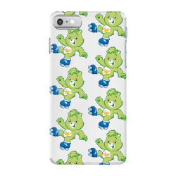 Rainbow green skate bear iPhone 7 Case | Artistshot