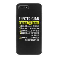 funny electrician gifts iPhone 7 Plus Case | Artistshot