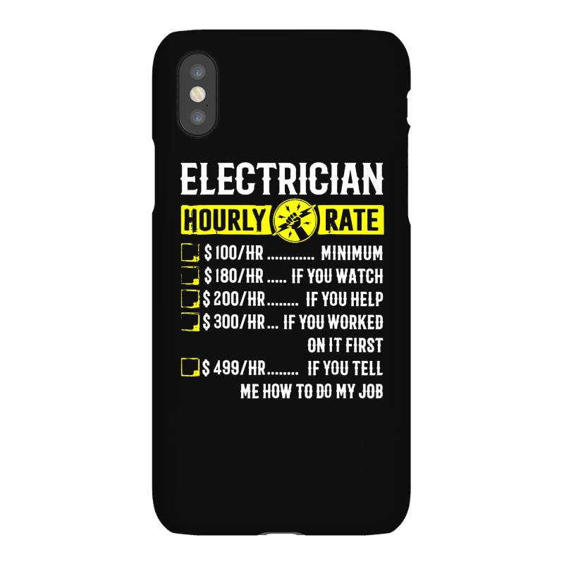 Funny Electrician Gifts Iphonex Case | Artistshot