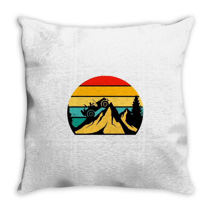 Off Road Off Roading Throw Pillow | Artistshot